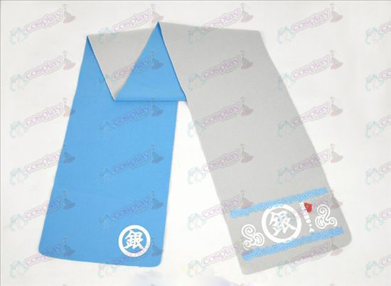 Gin Tama Accessories-color double-sided Scarf