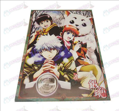 D42 * 29Gin Tama Accessories embossed posters (8)