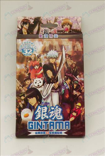 32 Gin Tama Accessories Stickers