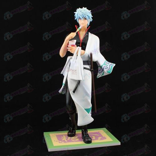 Genuine some reward Gin Tama Accessories Sakata Gintoki A hand to do tours (no box)