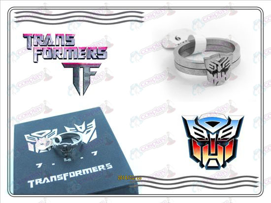 Transformers Accessories stainless steel couple rings (B section)