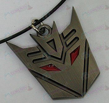 Transformers Accessories Decepticons Necklace - marked - Gun Color