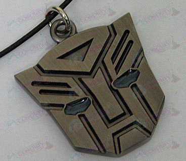 Transformers Accessories Autobots necklace - blue oil - Gun Color