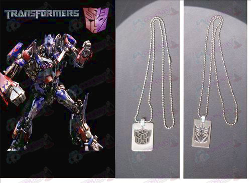 Transformers Accessories Stainless Steel Necklace