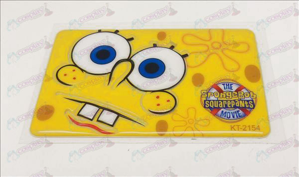 Waterproof degaussing card affixed (SpongeBob SquarePants Accessories1)