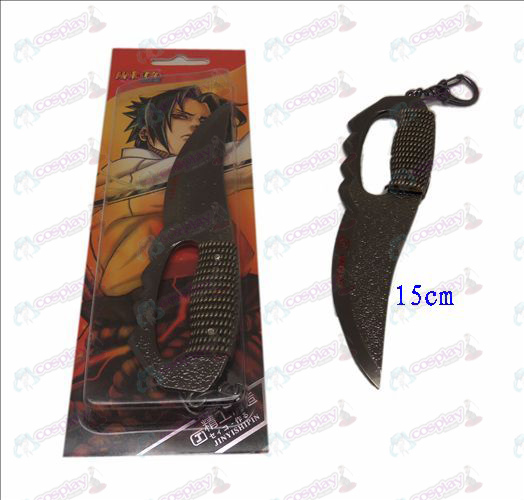 Asma D Naruto knife buckle (black)