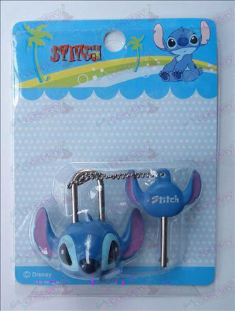 Lilo & Stitch Accessories couple locks (movable)