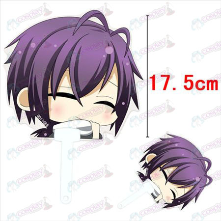 Hakuouki Accessories Saito a smile cool fan