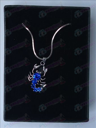 Saint Seiya Accessories Scorpion Necklace (Blue)