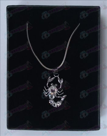 Saint Seiya Accessories scorpion necklace (white)
