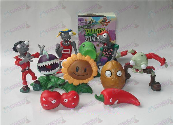 10 Plants vs Zombies Accessories Doll (boxed)