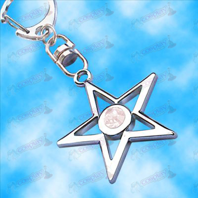 Lack Rock Shooter Accessories pentacle hanging buckle (white)
