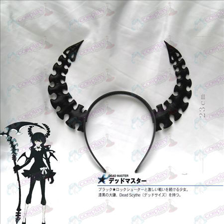 Lack Rock Shooter Accessories protagonist COS horn headdress