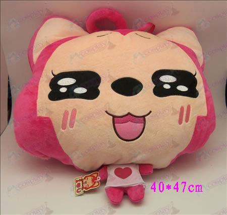 1 # Ali Accessories Plush Shou Wu (pink squares)