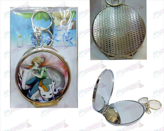 Natsume's Book of Friends Accessories round mirror -1