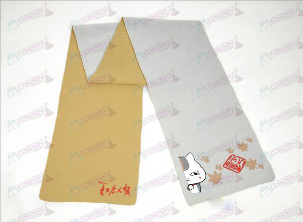 Natsume's Book of Friends Accessories-color double-sided Scarf