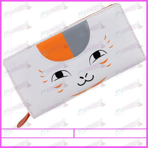 Natsume's Book of Friends Accessories Cat God PVC wallet