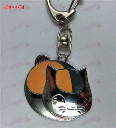 Natsume's Book of Friends Accessories-Pet Cat Keychain