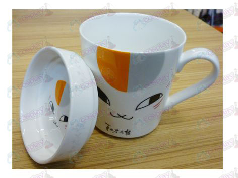 Natsume's Book of Friends Accessories cat face mug