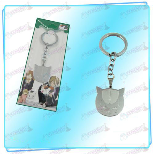 Natsume's Book of Friends Accessories (cat face key ring)