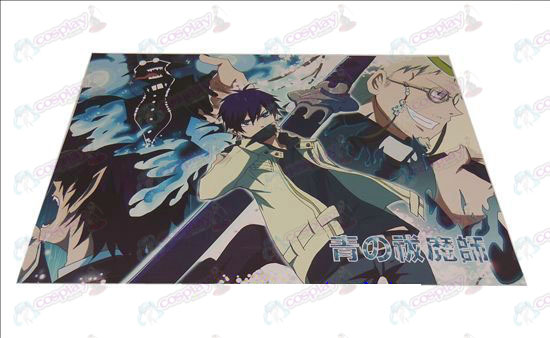 D42 * 29Blue Exorcist Accessories embossed posters (8)