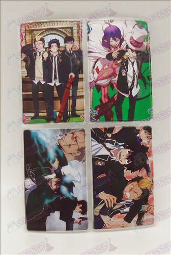 4 PVCBlue Exorcist Accessories simcard