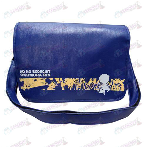 77-02 Messenger Bag Blue Exorcist Accessories