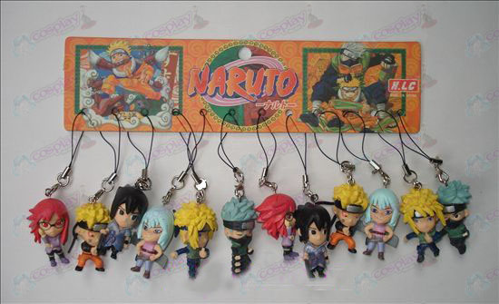 17 generations 12 Naruto Doll Machine Rope
