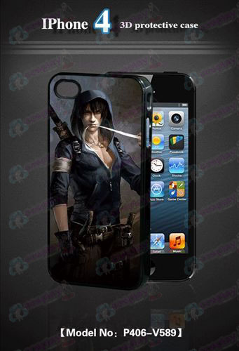3D mobile phone shell Apple 4Daomu Accessories