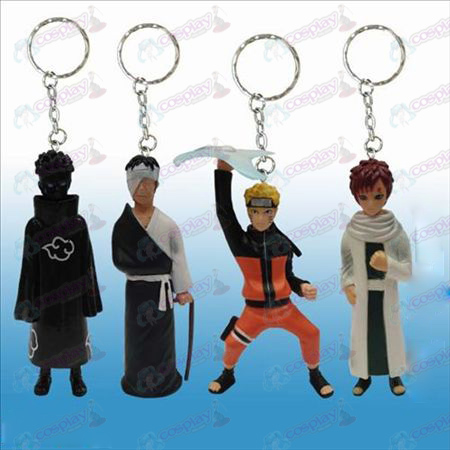 26 Generation 4 models Naruto doll key chain