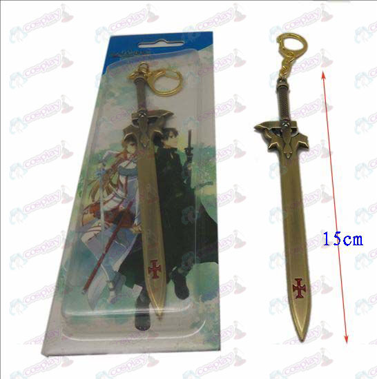 DSword Art Online Accessories knife buckle 4 (Bronze)