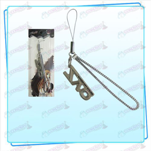 Sword Art Online AccessoriesSAO flag Strap (pearl nickel color)