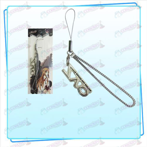 Sword Art Online AccessoriesSAO flag Strap (Silver)