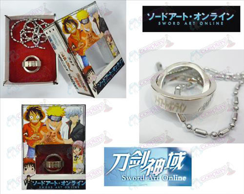 Sword Art Online Accessories Dual Ring Necklace