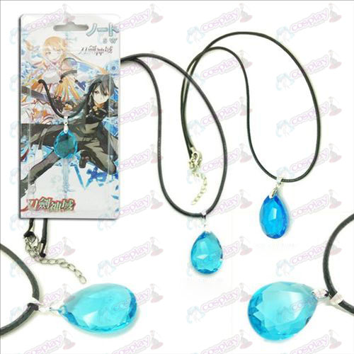 Sword Art Online Accessories Yui Hearts 2 color drop pendant necklace