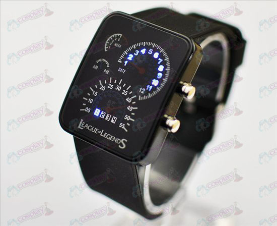 (12) League of Legends Accessories-meter dish watch