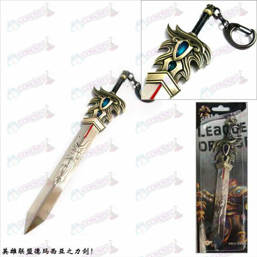 League of Legends Accessories Dema West power of the sword