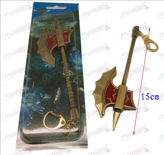 DLeague of Legends Accessories knife buckle 19 (Bronze)