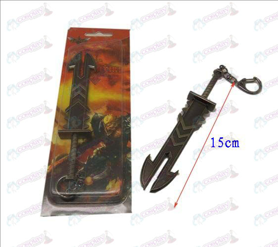 League of Legends Accessories knife buckle 13 (gun color)