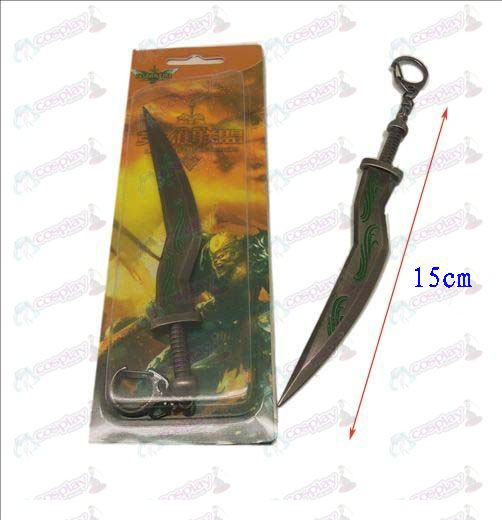 League of Legends Accessories knife buckle 11 (gun color)