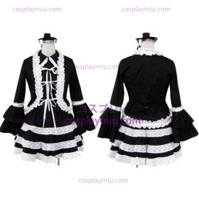 Lolita Black Cosplay Costume