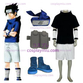 Naruto Sasuke Uchiha Cosplay Costume And Accessories Au9697