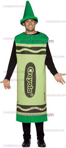 Crayola Cost Green Adult Lg/Xl