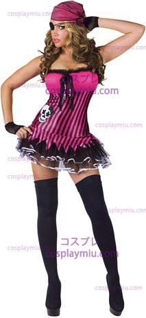 Rockin' Skull Pirate Adult 10-14