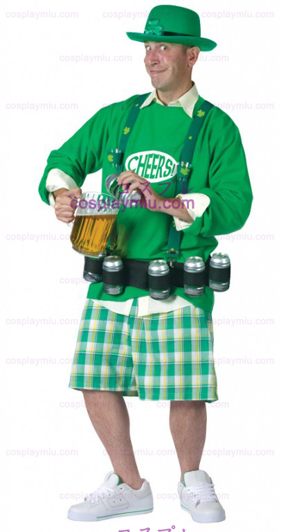 Green Leprechaun Costume