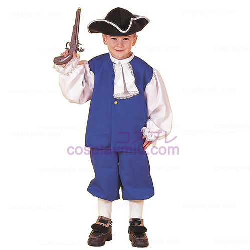 Little Colonial Boy Child Costume