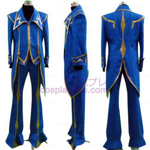 Code Geass Zero Cosplay Costume