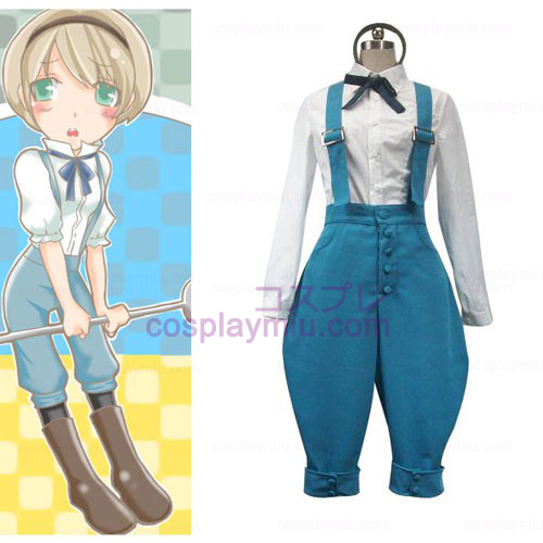 Axis Powers Ukraine Halloween Cosplay Costume