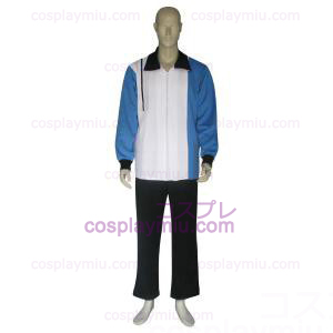 The Prince Of Tennis Hyotei Gakuen Dark Blue White and Black Cosplay Costume