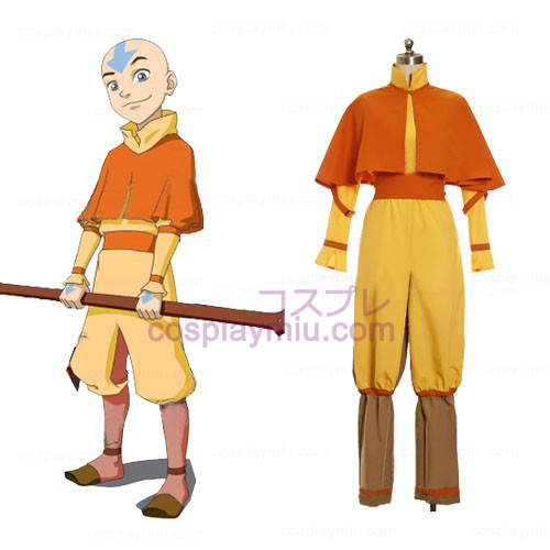 Avatar Full Movie Free: Avatar The Last Airbender Cosplay Aang Costume